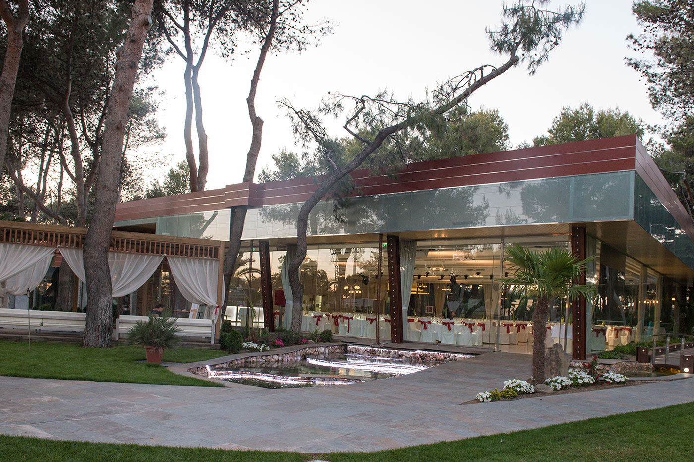 las palmeras bodas Madrid
