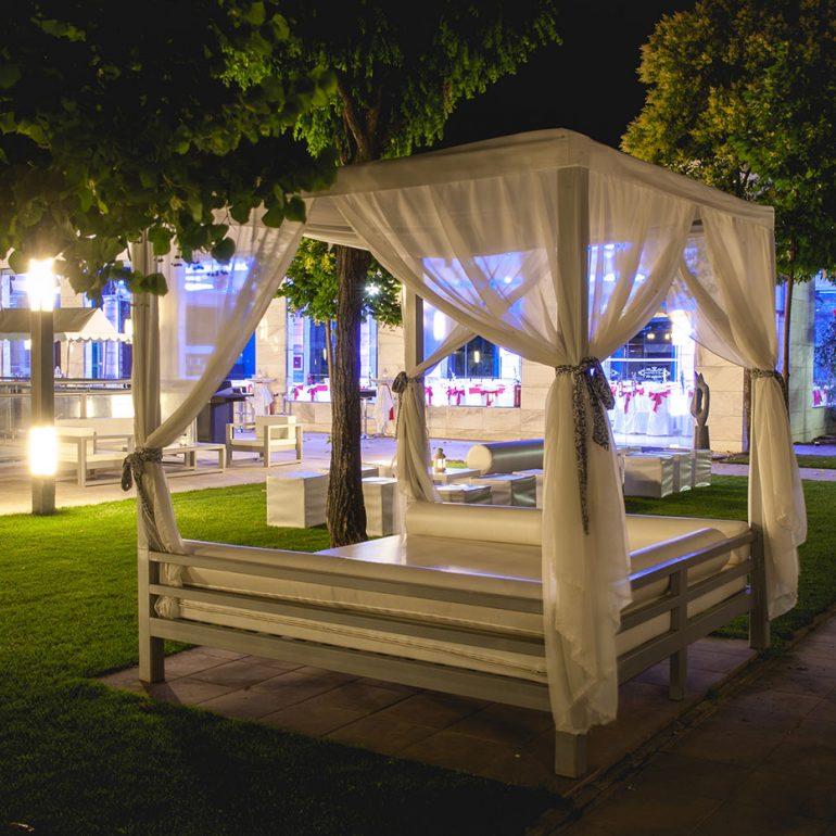 jardín pérgola bodas Madrid
