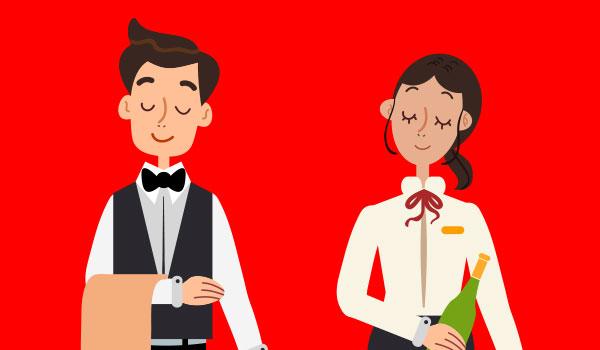 camareros y doncellas bodas Madrid